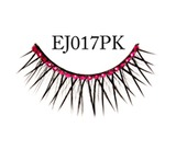 Diamonte Eyelashes EJ017 Pink