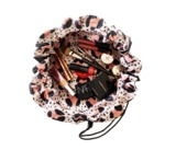 Donna May Clitheroe Pink Leopard 2-in-1 Make-up Bag