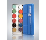 Kryolan Aquacolour Palette 12 colours