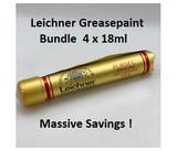 Leichner Greasepaint `C` Stick Make Up Bundle