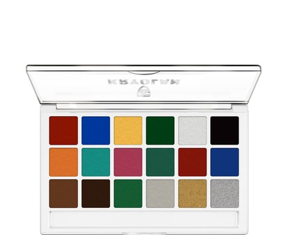 Kryolan Body Illustration Make-Up Color Palette