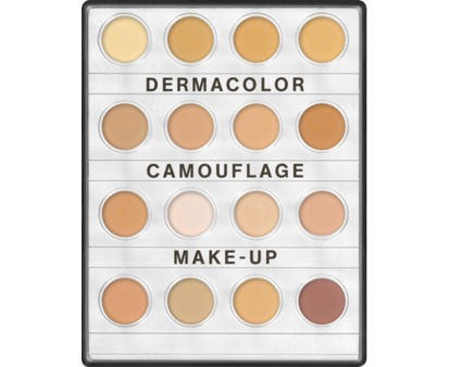 Dermacolor Camouflage Mini Palette 16 Colors