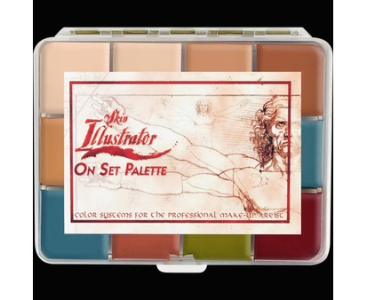 Skin Illustrator On Set Palette