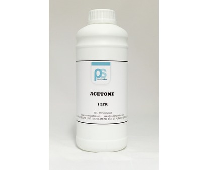 PS Composites Acetone 1Litre