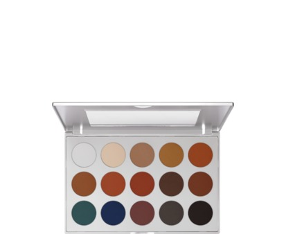 Kryolan Eyeshadow Palette 15 Colors