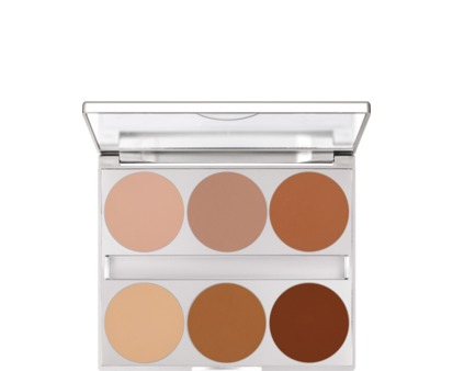 Kryolan Dual Finish Palette 6 Colors Modelling