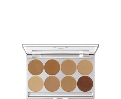 Kryolan HD Micro Foundation Cream Palette 8 Colors