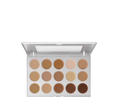 Kryolan HD Micro Foundation Cream Palette 15 Colors