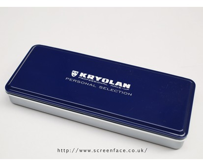 Kryolan 24 Colour Empty Palette