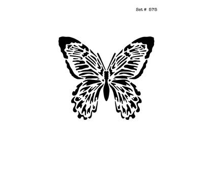 Listing Butterfly Tattoo & Body Art Stencils