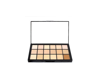 Ben Nye Media Pro HD Matte  Foundation Palette 18col