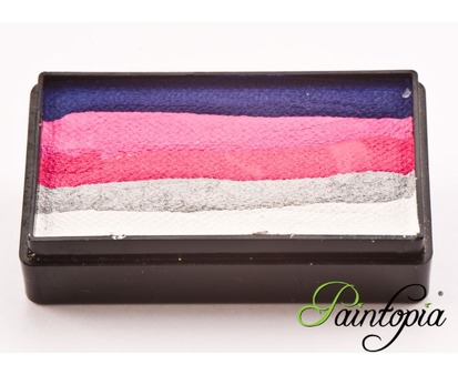 Cameleon Color Block-Split Cake