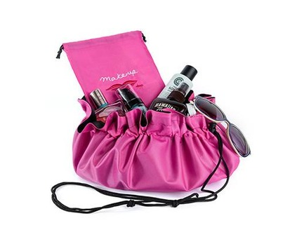 Donna May Clitheroe Pink 2-in-1 Make-up Bag