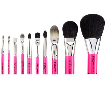 Fox Pink Brush Set